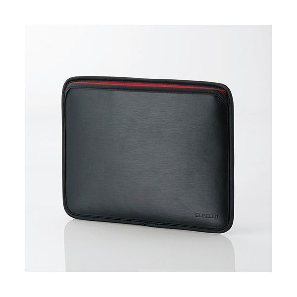 エレコム Surface Go用セミハードポーチ TB-MSG18SHPBK ブラックの画像