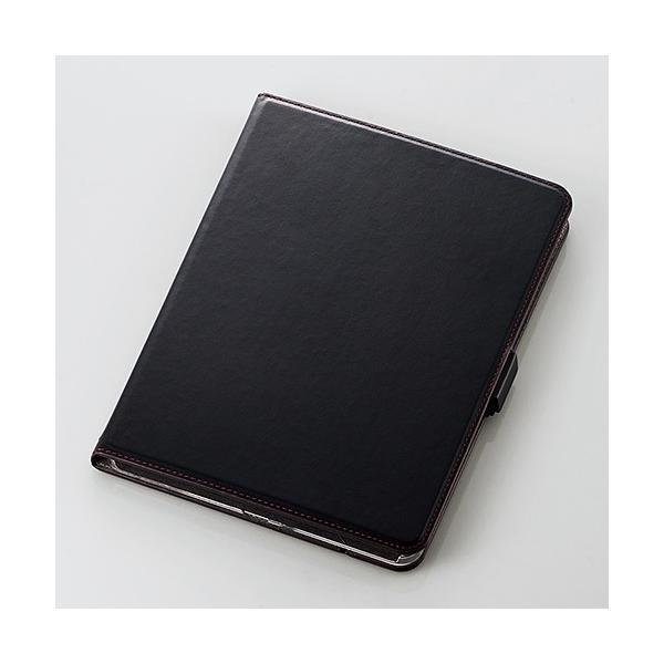 エレコム 11インチ iPad Pro ケース TB-A18M360BK ブラックの画像