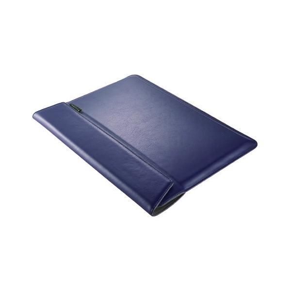 トリニティ MacBookAir Retina/Pro13インチ用ケース TR-MB1813-BS-NNV ネイビーの画像