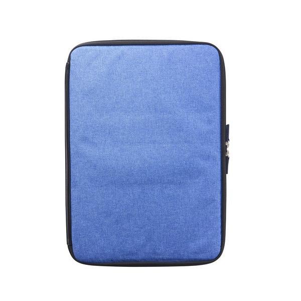 トリニティ MacBookAir Retina/Pro13インチ用ケース TR-MB1813-BZ-MGBL メランジブルーの画像
