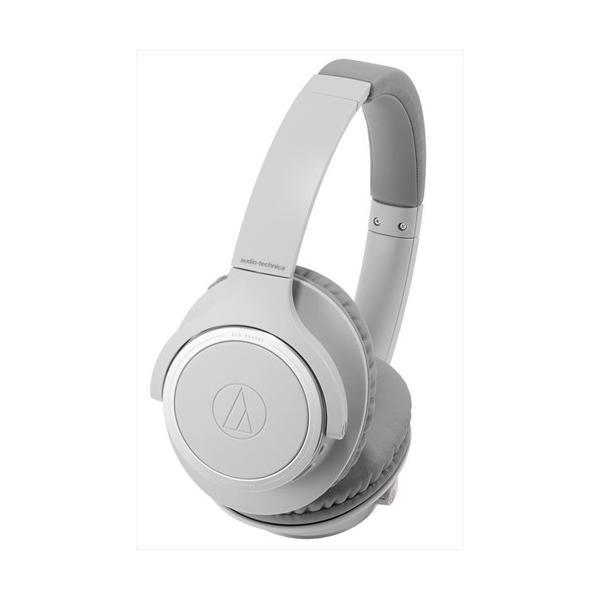 オーディオテクニカ Bluetoothヘッドホン ATH-SR30BT GY グレーの画像
