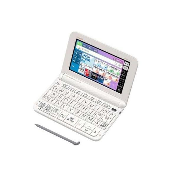 カシオ XD-Z4800WE 電子辞書 「EX-word(エクスワード)」 (高校生モデル 209コンテンツ収録) ホワイト|yamada-denki