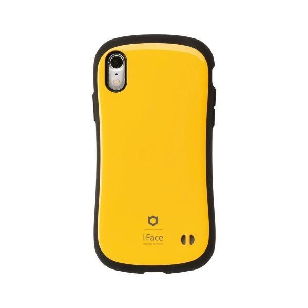 Hamee 41-896693 iFace Standardケース イエロー〔iPhone XR用〕の画像