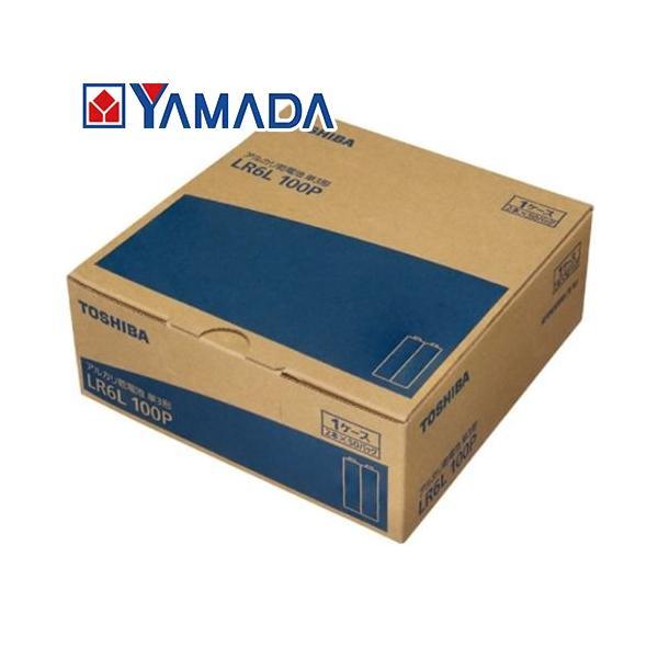 東芝 LR6L 100P アルカリ乾電池 【単3形】100本パック