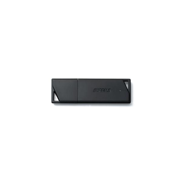 バッファロー RUF3-K64GB-BK USB3.1(Gen1)/USB3.0対応 USBメモリー バリューモデル ブラック 64GB|yamada-denki