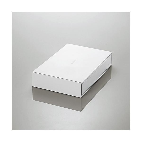 エレコム ELD-ETV020UWH TV向け外付けハードディスク 2TB ホワイト