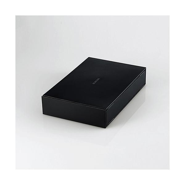 エレコム ELD-ETV030UBK TV向け外付けハードディスク 3TB ブラック