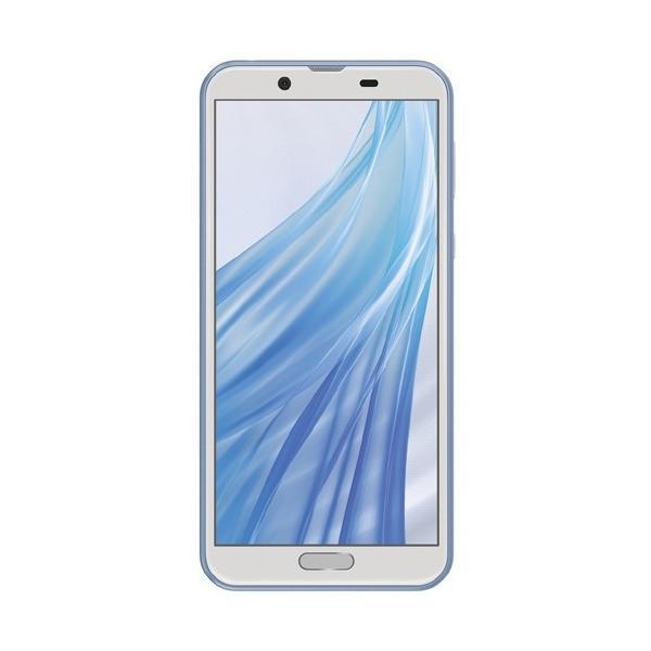 AQUOS PHONE 32GB ブルー SIMフリーの画像