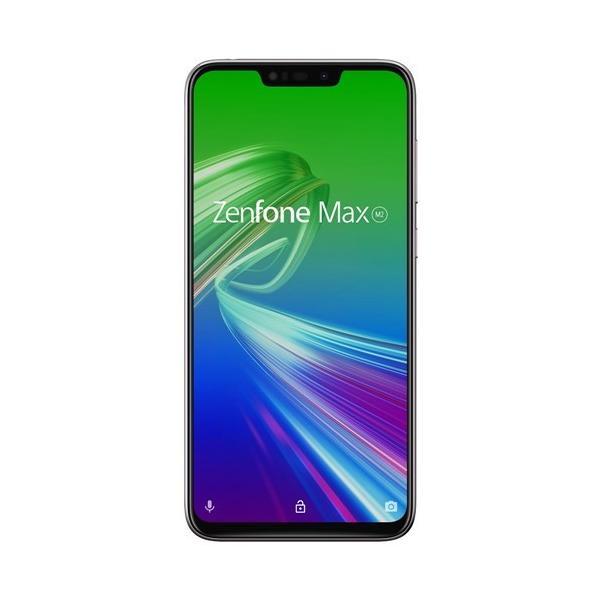 ASUS ZB633KL-SL32S4 SIMフリースマートフォン Zenfone Max M2  メテオシルバー|yamada-denki