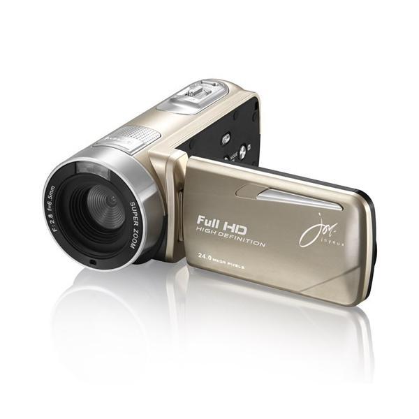 ジョワイユ JOYF9TCGL フルハイビジョン デジタル ムービー カメラ ゴールド
