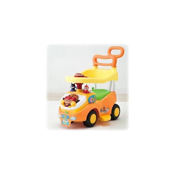 アガツマ アンパンマン よくばりビジーカー 押し棒+ガード付き