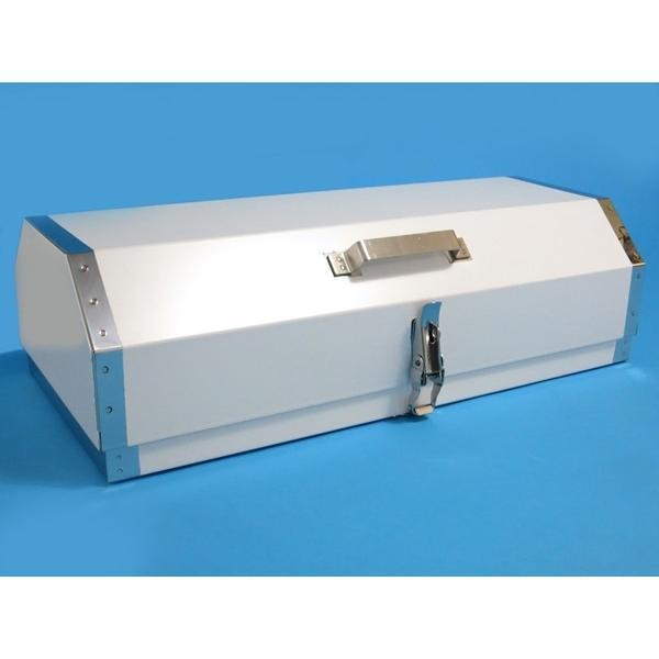 ステンレス消火器ボックス 20型用 カマボコ型