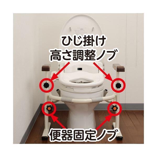 パナソニック エイジフリー洋式トイレ用スライド手すり(ステンレス)PN-L53001 1台|yamadouonlinestore|02