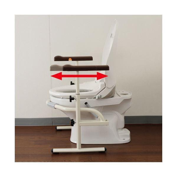 パナソニック エイジフリー洋式トイレ用スライド手すり(ステンレス)PN-L53001 1台|yamadouonlinestore|05