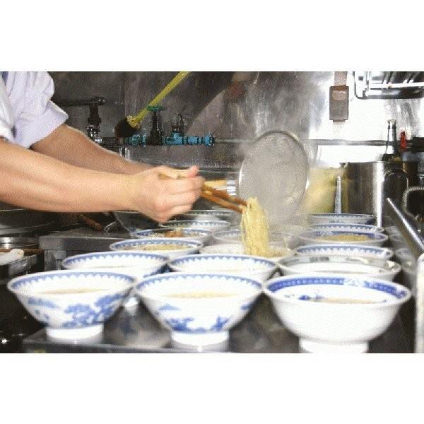 ラーメン 龍上海 赤湯からみそラーメン(生・味噌スープ、辛味噌つき) 3食入 送料込|yamagata-kikou|04