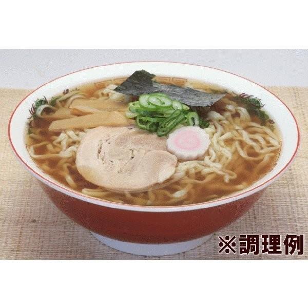 ラーメン 喜多方ラーメン(生・醤油スープ付) 10食入 送料込|yamagata-kikou|02