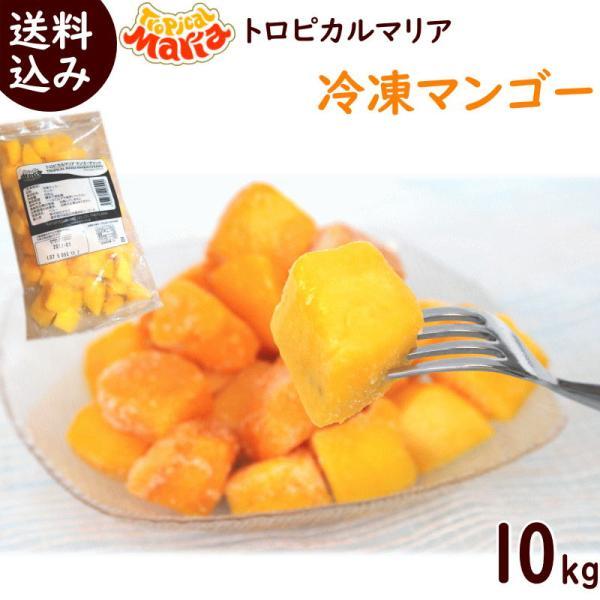 まとめ買い トロピカルマリア 冷凍マンゴー 500g×20袋 ※ペルー産アップルマンゴー 送料込