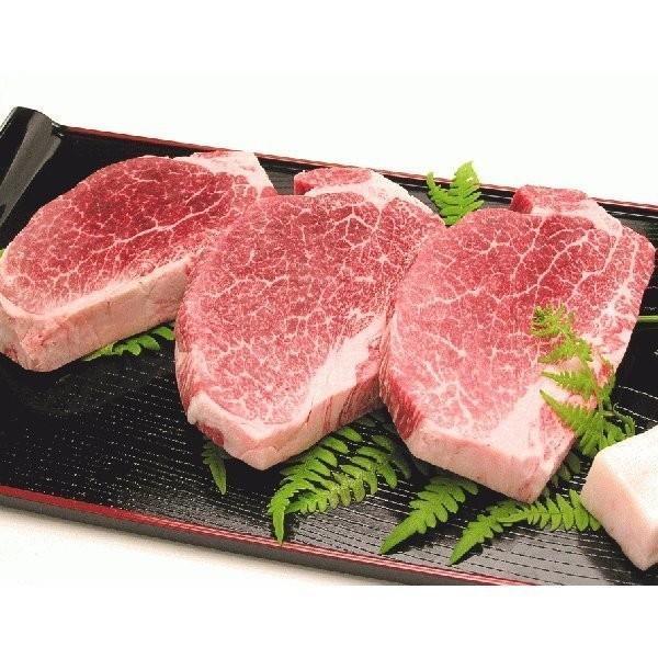 牛肉 米沢牛ヒレステーキ 100g×3枚 送料込|yamagata-kikou|02