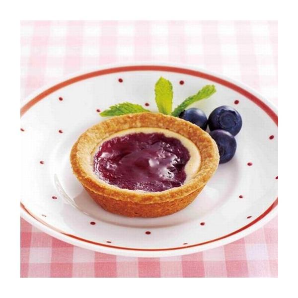 【学校給食】【日東ベスト】【冷凍食品】お米deブルーベリータルト(岩手県産ブルーベリー)X80個