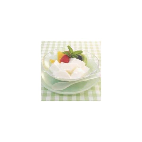 【学校給食】【日東ベスト】【冷凍食品】やわらか杏仁豆腐 1kg