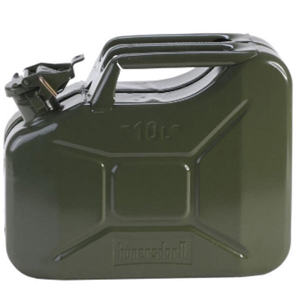 hunersdorff ヒューナースドルフ Metal Kanister CLASSIC 10L olive 434601 ホワイトガソリン