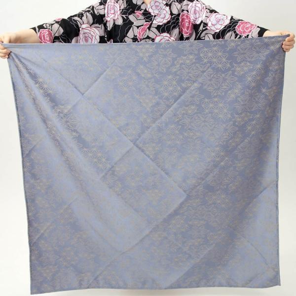 風呂敷 大判 ブルー 約106cm|yamaki|03