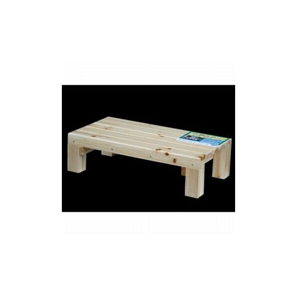 IPC 木製塗装踏み台 ワイド 600*325*16