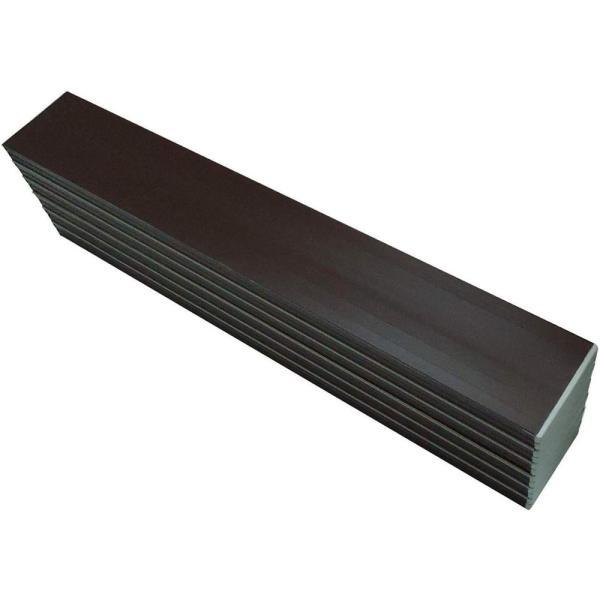 オーエ コンパクト収納風呂ふた ネクストAG 70×120cm用 L-12 ブラウン