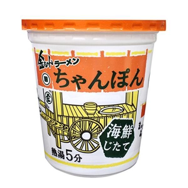 【ケース販売】徳島製粉 金ちゃんラーメンカップちゃんぽん (76g×12個) (4904760010650×12) 76gx12