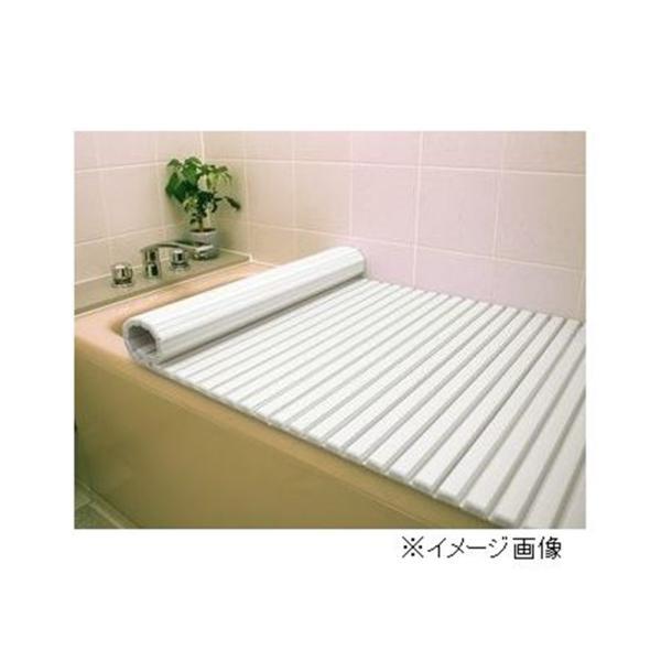 東プレ シャッター風呂ふた 【75×160cm用】 L16 WH(ホワイト)