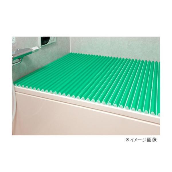 東プレ カラーウェーブ(風呂ふた) 【70×100cm用】 M10 グリーン