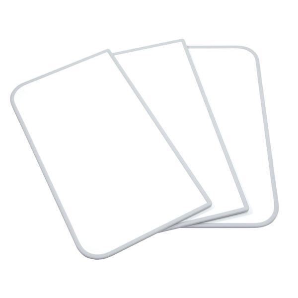 東プレ センセーション(組み合わせ風呂ふた) 【75×150cm用】(3枚割) ホワイト/ホワイト L15