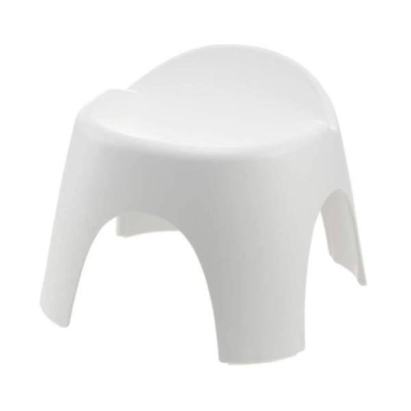 リッチェル アライス 腰かけ 25H [バスチェア 高さ25cm 風呂いす 風呂椅子 風呂イス] ホワイト