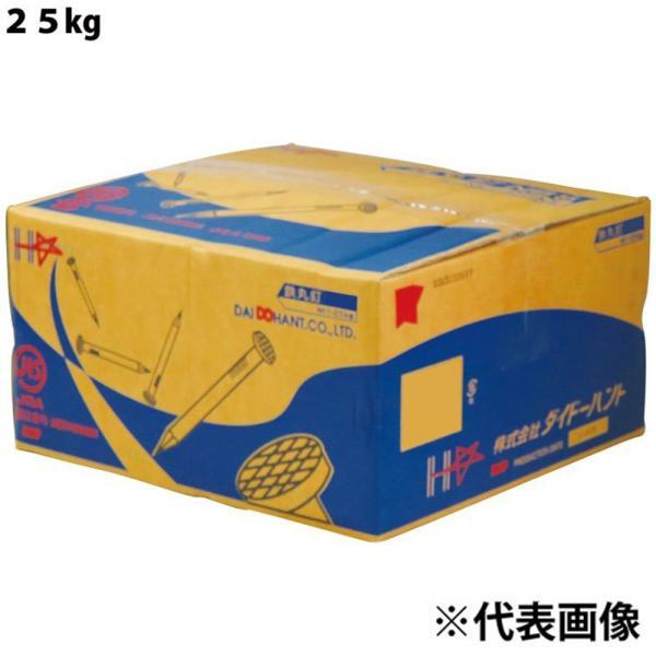 ダイドーハント 丸釘25kg(ケース) N90 (3.75)[09122] 【○】