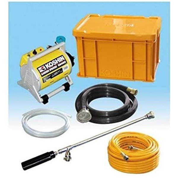 工進 電動噴霧器 ガーデンスプレーヤー 収納ケース付 MS-252CL