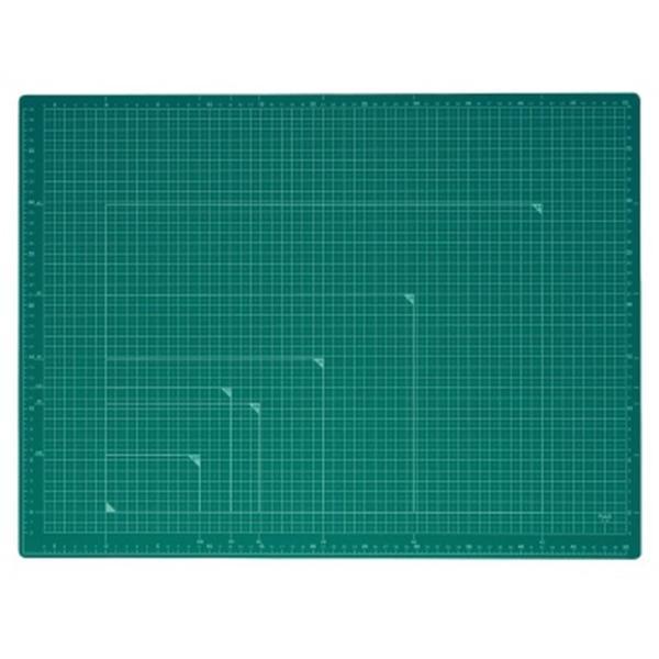 プラス カッティングマット (カッターマット)  A2 グリーン CS-A2