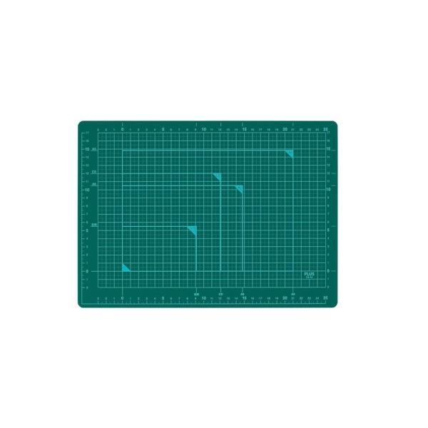 プラス カッティングマット (カッターマット)  A4 グリーン CS-A4