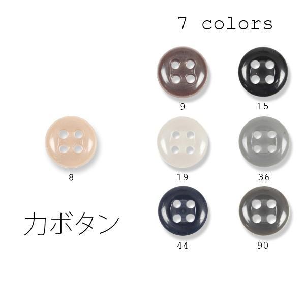 力ボタン チカラボタン 裏ボタン 4つ穴 yamamoto-excy