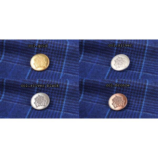 ボタン 高品質 ブレザーボタン-21mm 4色展開 (EX220シリーズ)|yamamoto-excy|03