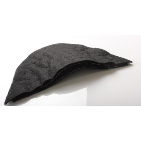 メンズジャケット用肩パット 2サイズ展開 (F-5 col.黒)|yamamoto-excy|03