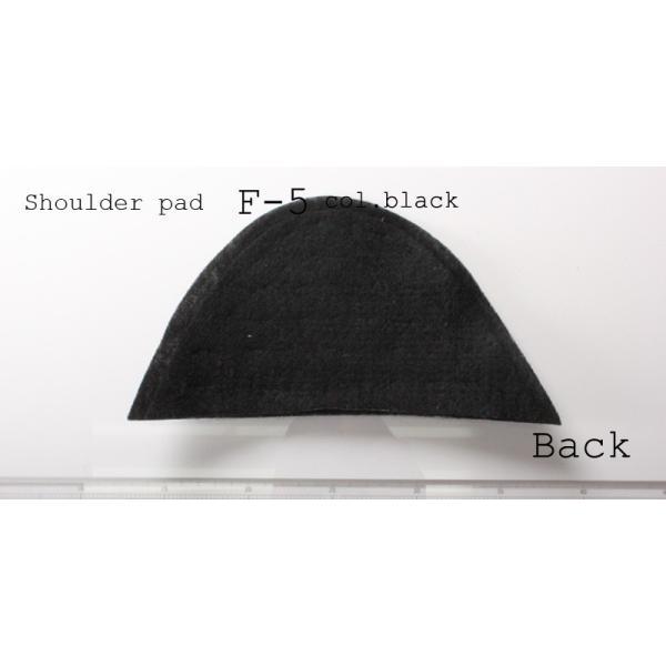 メンズジャケット用肩パット 2サイズ展開 (F-5 col.黒)|yamamoto-excy|04