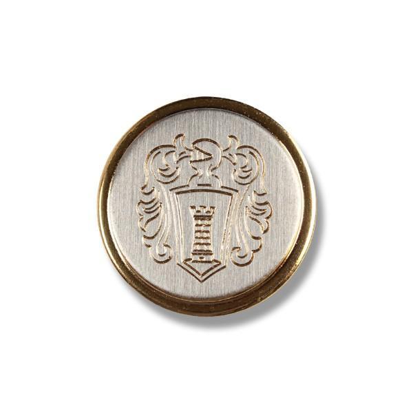 メタルボタン 1個から対応 スーツ・ジャケット向け 真鍮素材の高級品 ブレザーボタン ゴールド 15mm EXCY YM15 yamamoto-excy