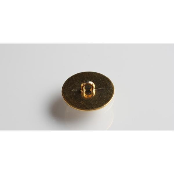 メタルボタン 1個から対応 スーツ・ジャケット向け 真鍮素材の高級品 ブレザーボタン ゴールド 15mm EXCY YM15 yamamoto-excy 02