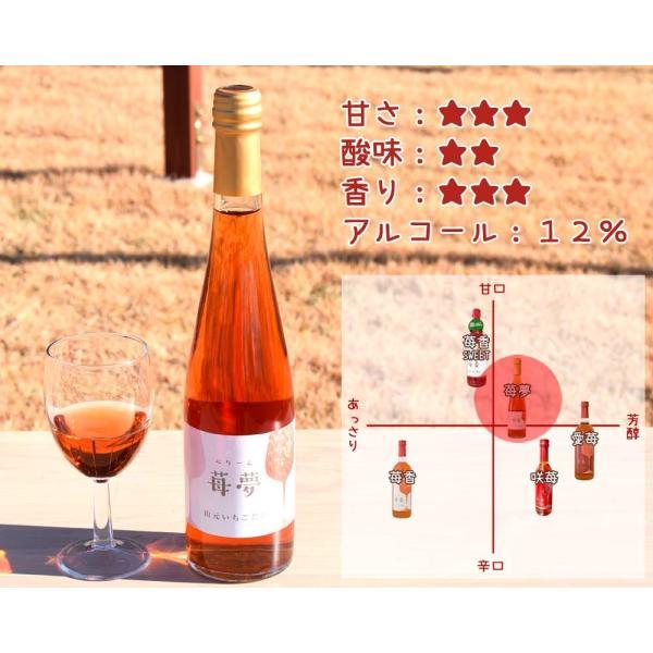 いちごワイン「苺夢(べりーむ)」500ml|yamamoto-ichigo15|02
