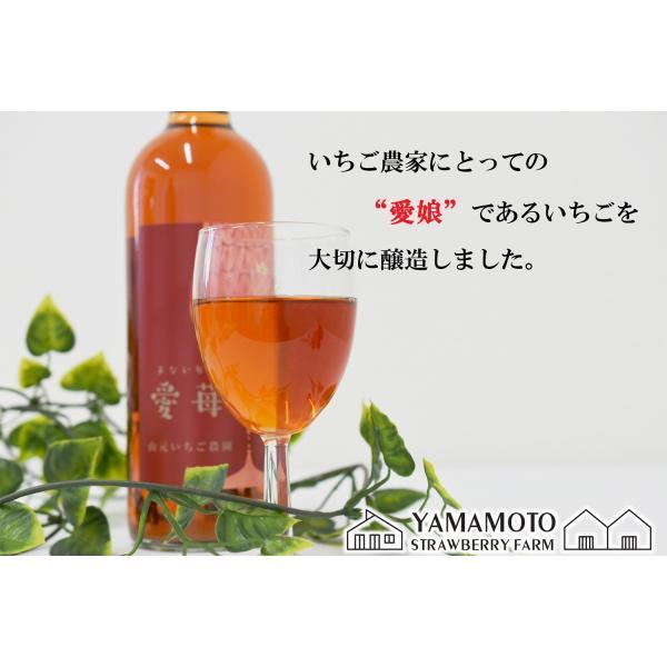 いちごワイン「愛苺(まないちご)」720ml|yamamoto-ichigo15|04