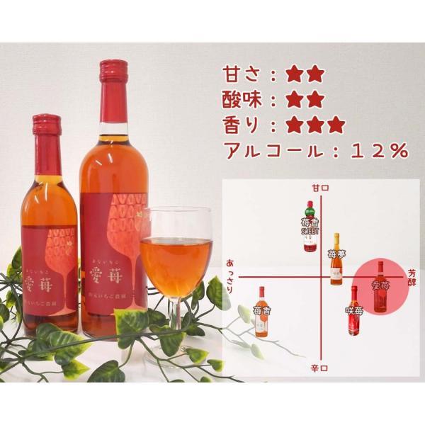 いちごワイン「愛苺(まないちご)」360ml yamamoto-ichigo15 03
