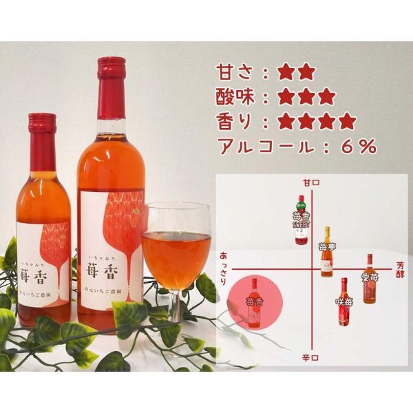 いちごワイン「苺香(いちかおり)」360ml|yamamoto-ichigo15|02