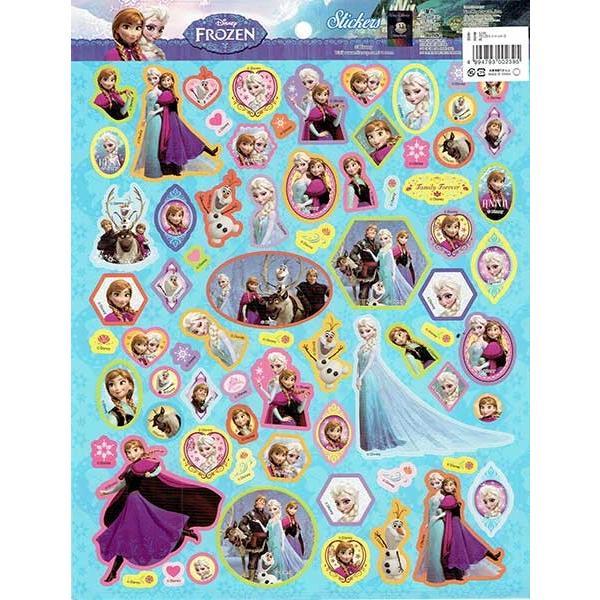 【ディズニー】アナと雪の女王 FROZENシール 30枚セット