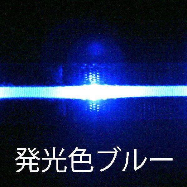 LED腕章 きらきら光るアームバンド ブルー ボタン電池交換式散歩/夜/歩き/ウォーキング/ジョギング yamanaka-inc 04