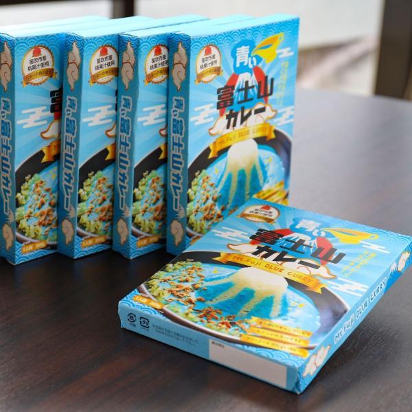 ご当地レトルトカレー 青い富士山カレー 200g ゆるキャン△でも登場しメディアでも多数取り上げられた話題の商品|yamanashi-online|07